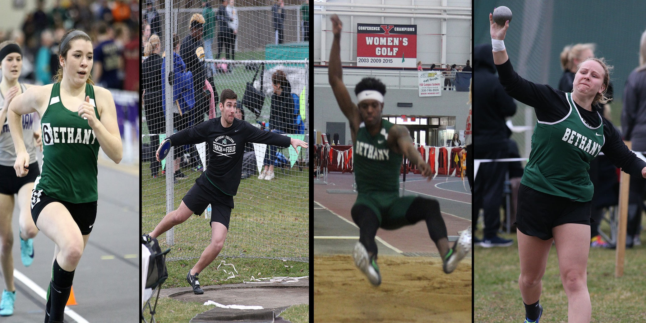 Track and Field Competes at Westminster Invitational