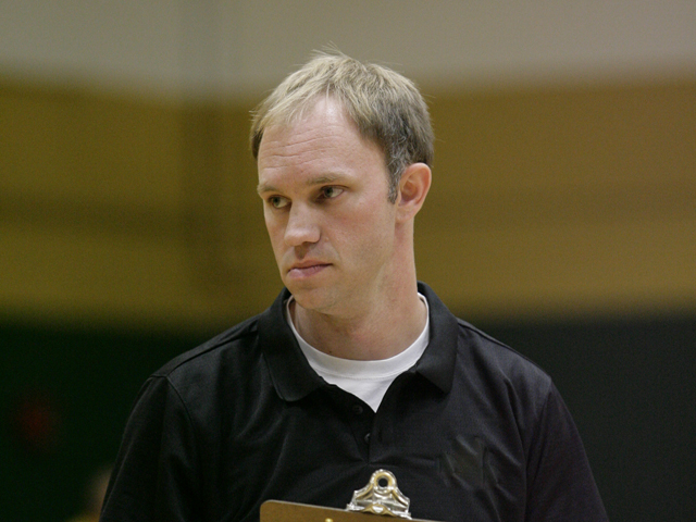 Andy Riesenberg has been named Lake Erie College's new head volleyball coach. (Photo courtesy Wright State University Athletics)