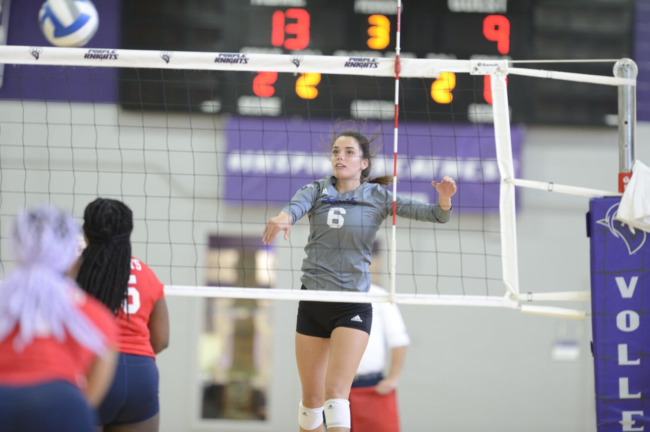 Balanced Offense Leads UB Volleyball To Sweep Over Mercy In 2019 ECC Opener
