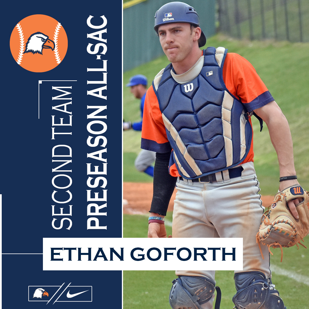 Goforth garners preseason All-SAC accolade