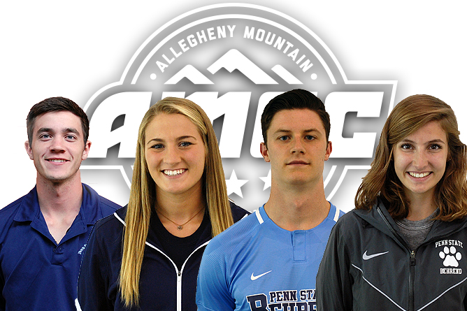 Four Behrend Lions Tabbed AMCC Athletes of the Week