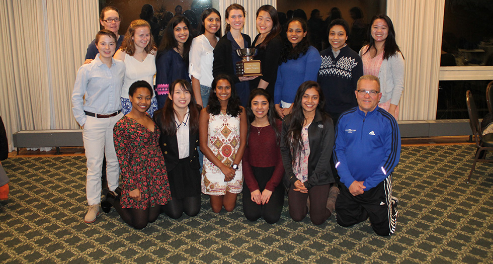 Mount Holyoke Squash - 2017 Seven Sisters Champions