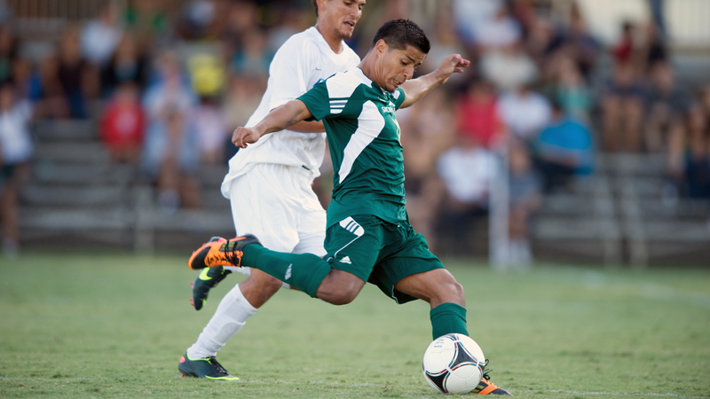 MEN'S SOCCER IMPROVES TO 2-0 IN BIG WEST PLAY WITH DOUBLE OVERTIME WIN AT CSU NORTHRIDGE