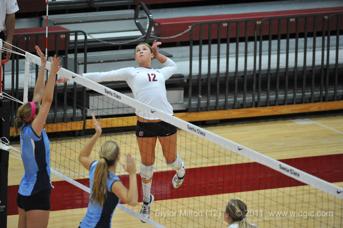 Broncos Fall to LMU on Senior Night for Volleyball