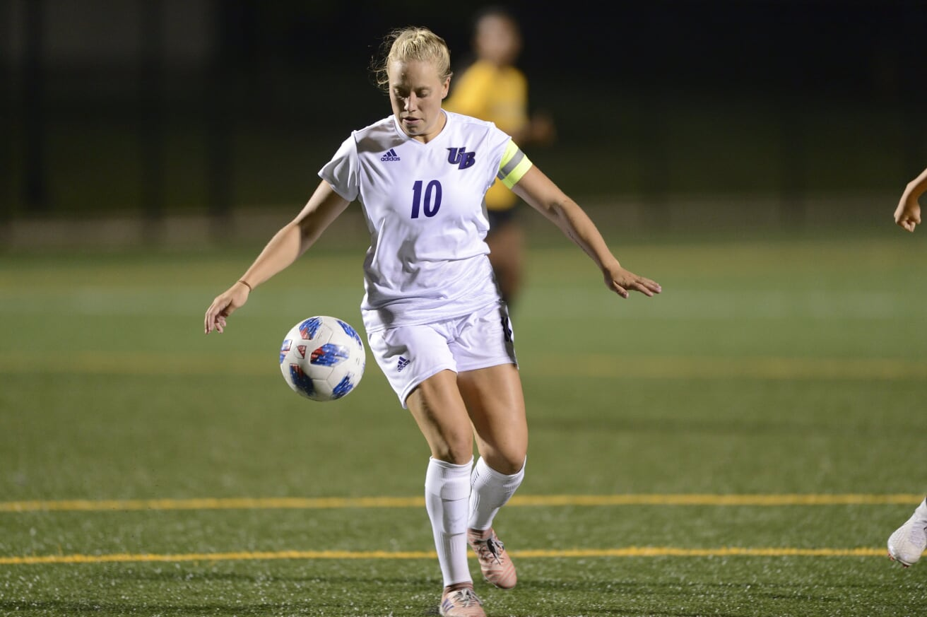UB Women's Soccer Advances To Second Round Of NCAA Play With Hard-Fought 2-1 Win Over Scrappy Stonehill