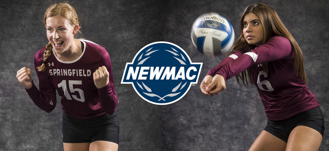 Holt and Sanchez Sweep NEWMAC Women's Volleyball Player of the Week Honors