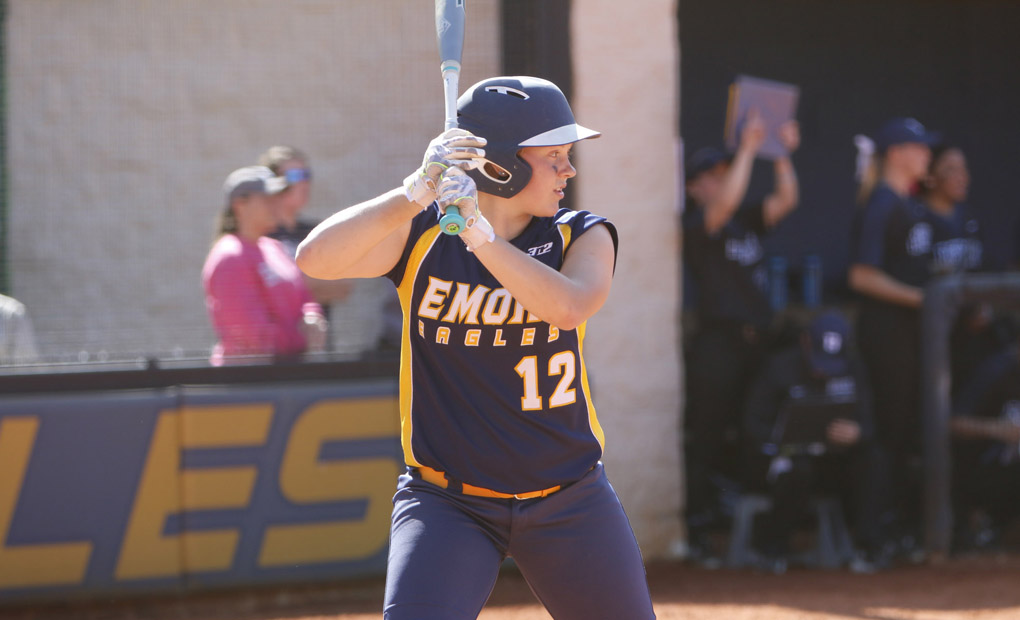 Emory Softball Splits Doubleheader vs. NYU
