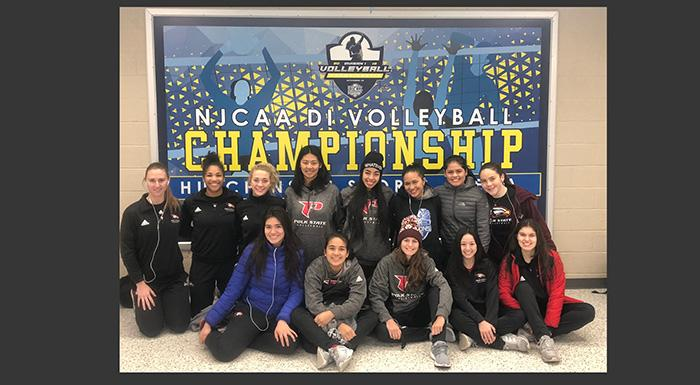 The Eagles (23-8) finished seventh at the 2018 NJCAA Division 1 Volleyball Championship in Hutchinson, Kan.