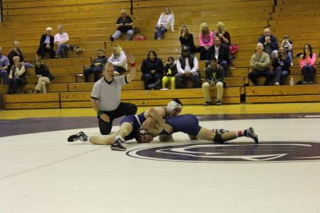 Wrestling Splits Tri-Match With Fayette and DuBois