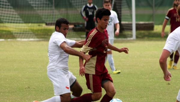 Abad-Jacobi's Two Second Half Goals Lift 'Roo Men to 3-2 Victory