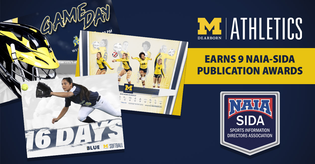 UM-Dearborn Sports Information Earns 9 NAIA-SIDA Awards