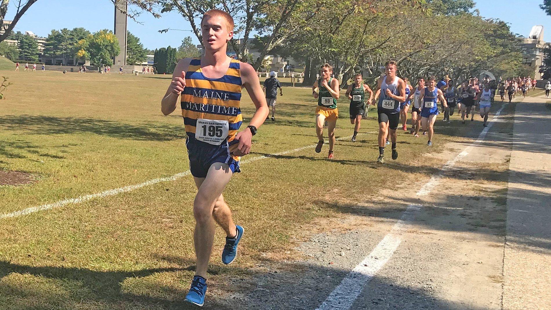Mariners Race in UMass Dartmouth Invitational