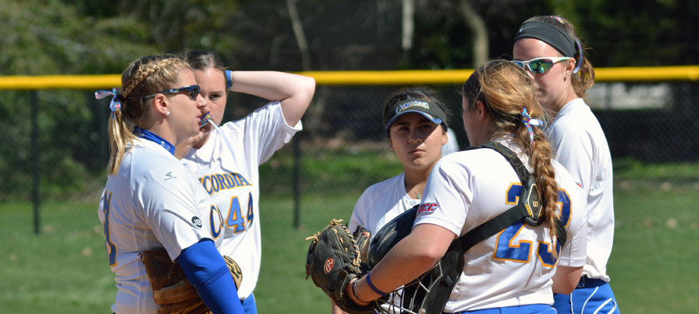 Clippers Softball Edged in CACC Home Doubleheader by Chestnut Hill
