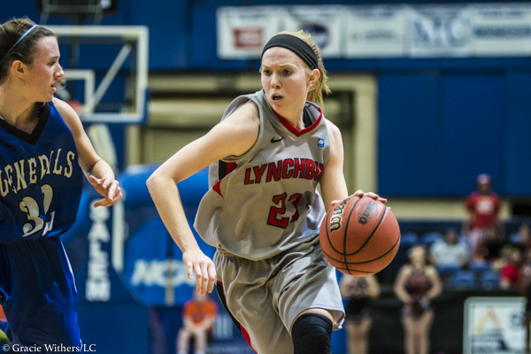 Naumann and Forbush Post Double Doubles as LC Women Defeat W&L 71-57 in ODAC Semis