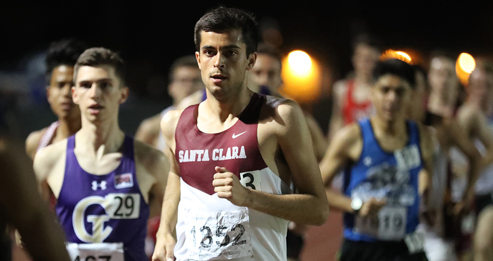 Wilder Boyden won the men's 3,000-meter race on Saturday. His previous collegiate-best finish was third place in the 1,500-meter race at the 2017 Woody Wilson Classic.