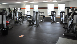 brand new elliptical brand new free motion machines six new spin bikes caltech recreation room