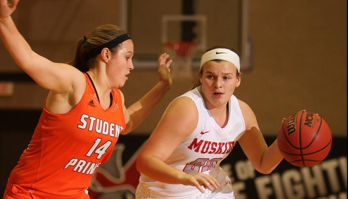 Women's Basketball slips at Oberlin
