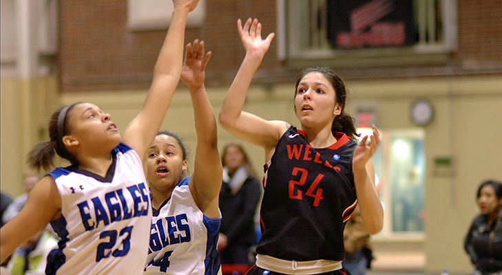 Women's Basketball Drops NEAC First Round Tilt