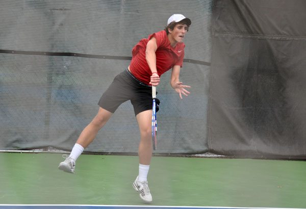 Men's Tennis: Panthers down Maryville to pick up first win of season