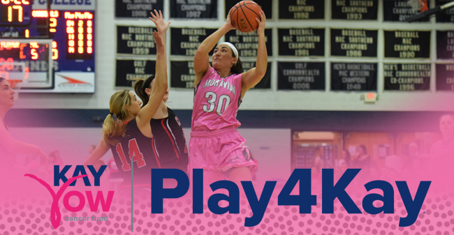 Moravian's 2018 Play 4Kay Week Set for January 29-February 4.