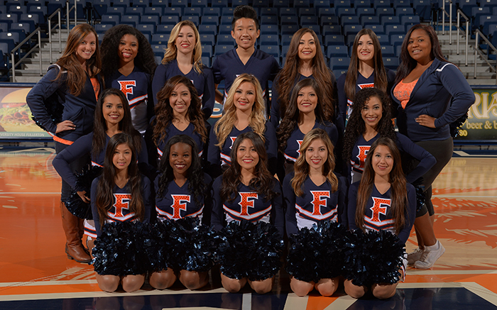 2014-15 Cheer Team Photo