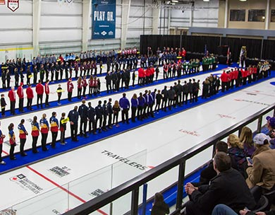 CCAA/Curling Canada Championships opening ceremonies