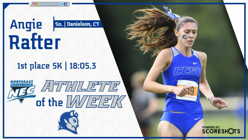 Rafter Named NEC Women's Cross Country Athlete of the Week