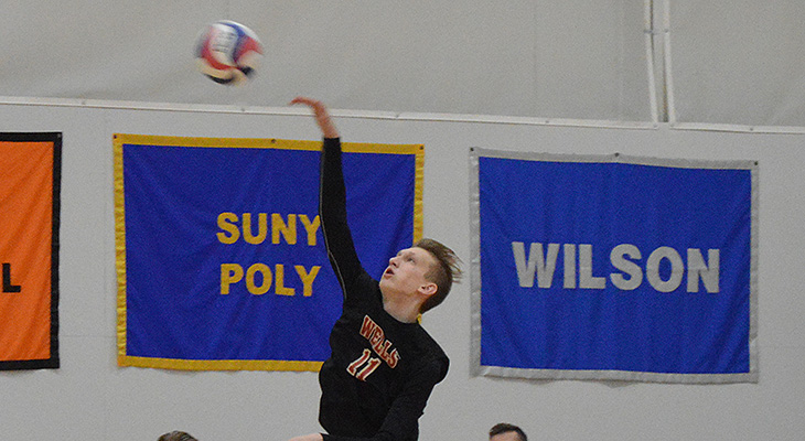 Saturday Split For Men's Volleyball At Poly Invite