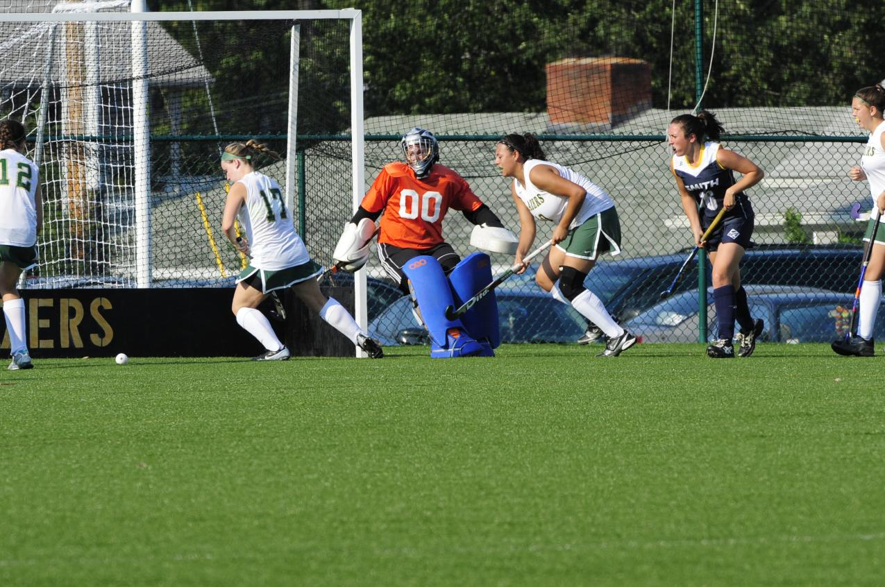 Bay Path College Downs Field Hockey, 3-0