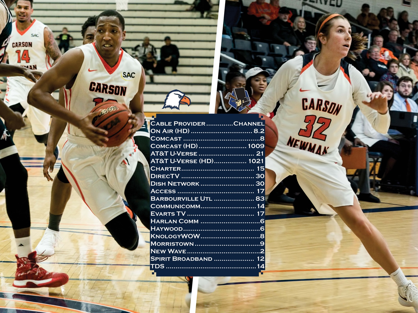 Carson-Newman's hoops doubleheader versus LMU set for local television broadcast