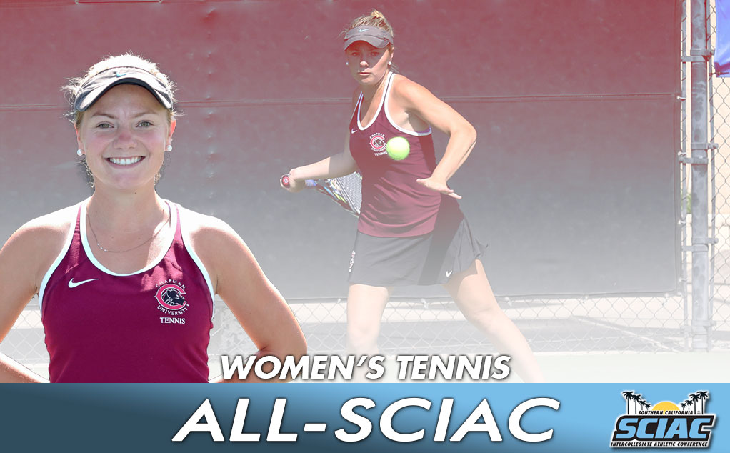Saunders earns All-SCIAC recognition to close out career