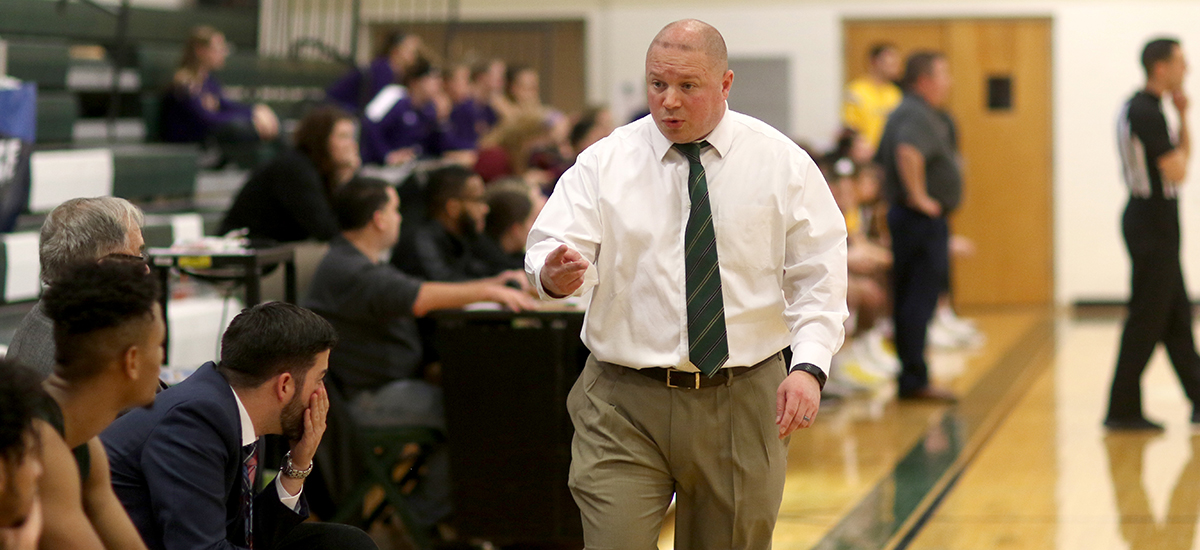Get to know Sage's Men's Basketball Coach Brian Barnes