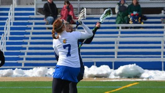 Women's Lacrosse Posts 9-8 Win Over Husson