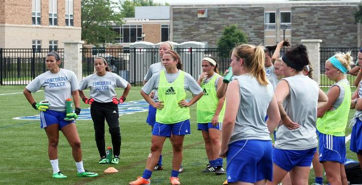 Camp Confidential: Women's Soccer continues improvement Tuesday