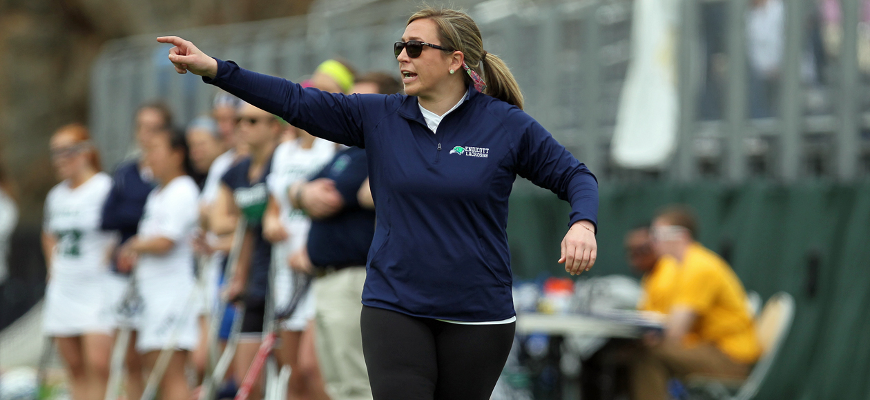 Fitzgerald Steps Down as Endicott Women's Lacrosse Head Coach after Six Seasons