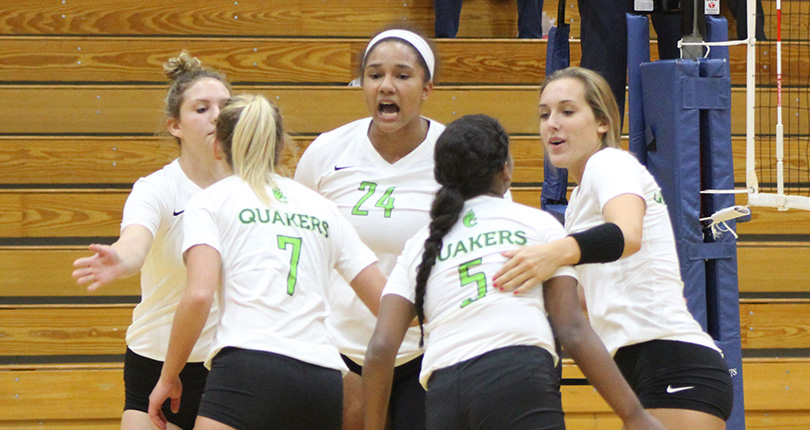 A pair of 3-0 losses for @DubC_Volleyball