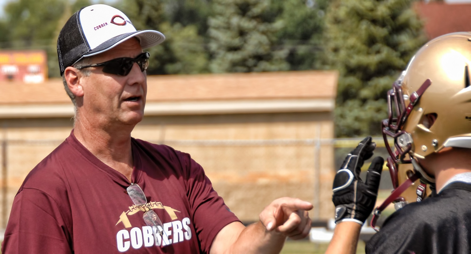 Cobber football assistant coach Dave Klug was drafted in the 1980 NFL draft by the Kansas City Chiefs.