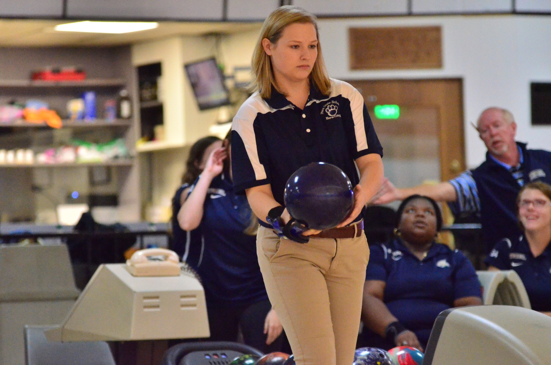 Women's Bowling Competes in First-Ever Match