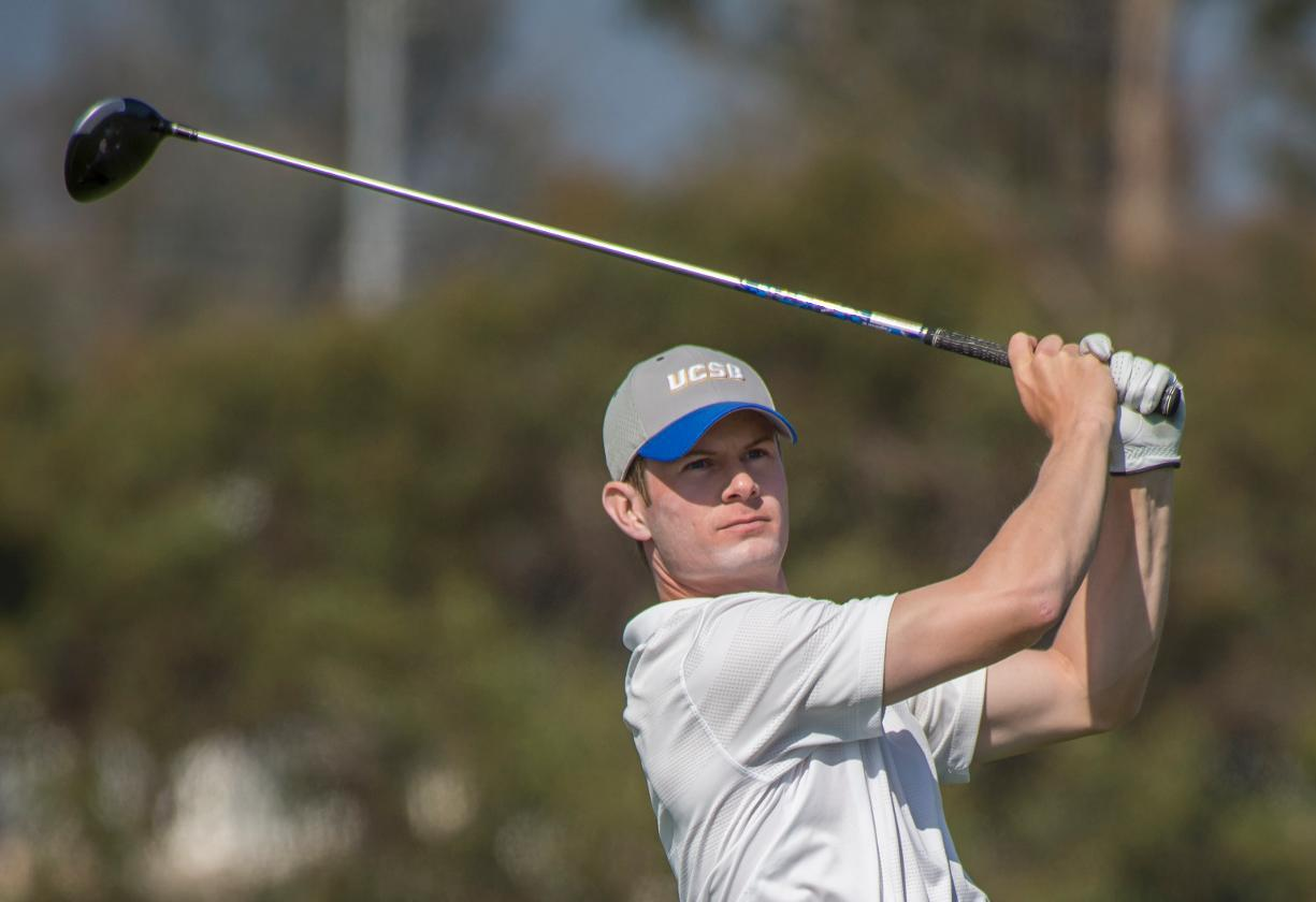 Hunter Robinson earned Cleveland Golf/Srixon All-America Scholar honors for the second consecutive year. (Photo by Tony Mastres)