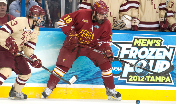 Ferris State Hockey Ranked 14th Nationally In Preseason Poll