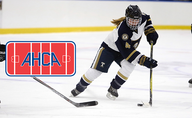 Three Women's Hockey Players Named AHCA All-American Scholars