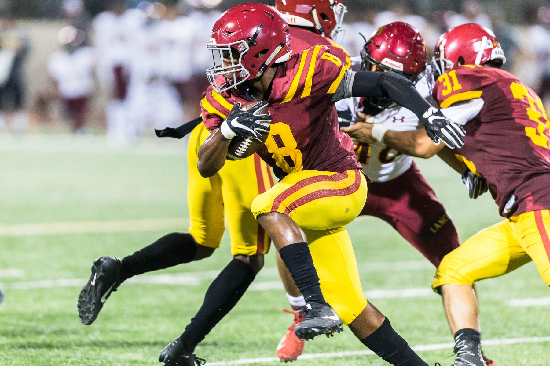 Glendale on wrong end of 69-18 loss to L.A. Valley College