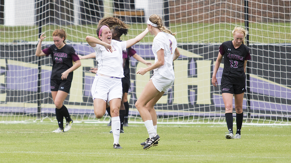 Tech soccer scores twice and holds down Eastern Kentucky for 2-0 win
