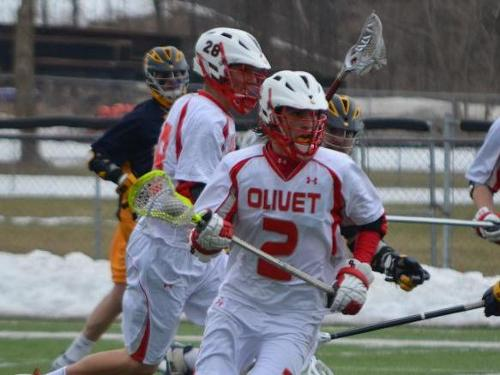 Men's lacrosse team beats Alma, 17-9