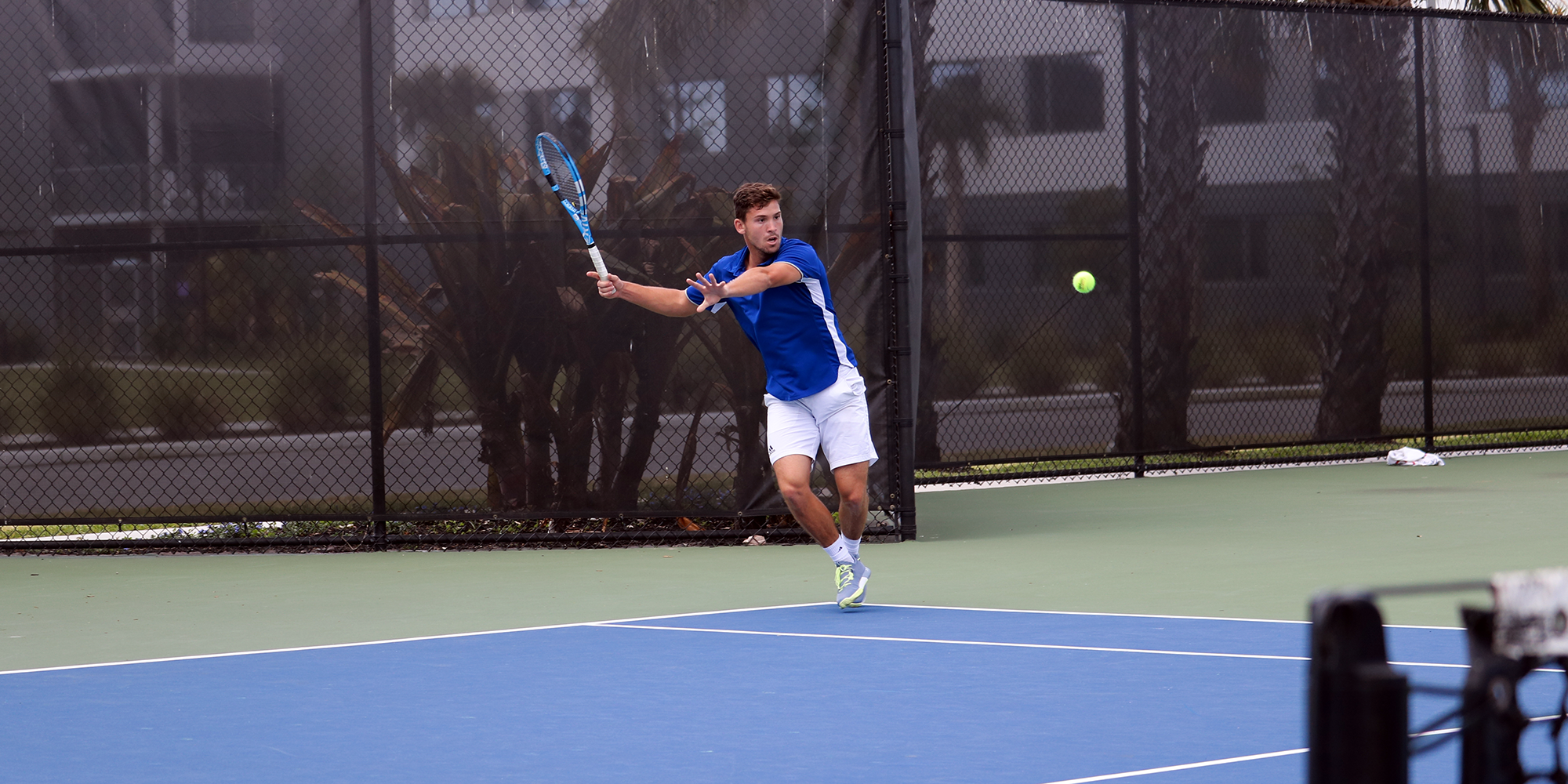 Men's Tennis Caps Conference Weekend with 8-1 Victory