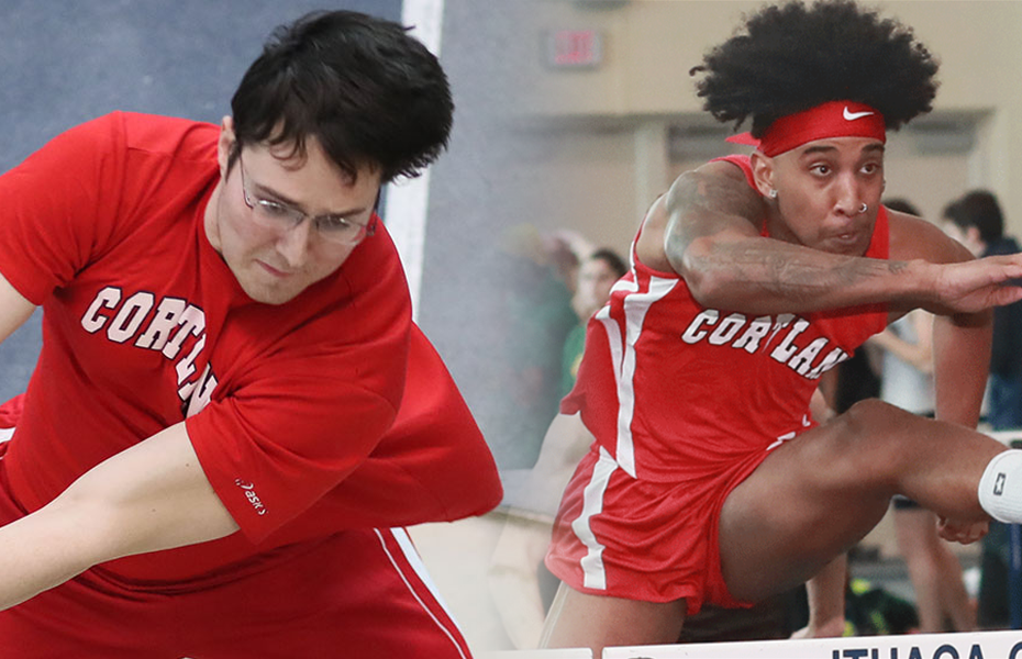 Cortland Men's Track and Field Awarded with Weekly Honors