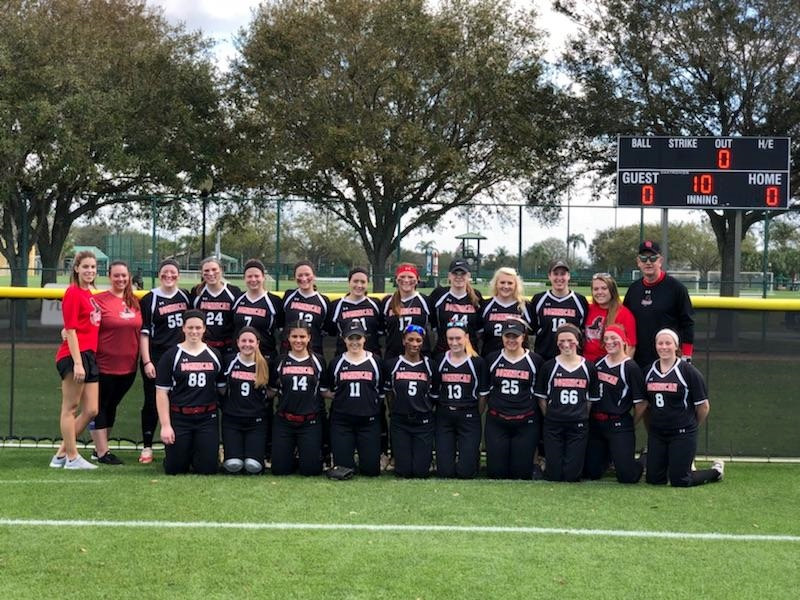 SOFTBALL ENDS FLORIDA TRIP WITH LOSSES TO KENTUCKY WESLEYAN AND LAKE ERIE COLLEGE