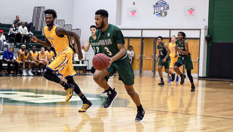 Richard Bland Runs Past Visiting Guilford Tech (N.C.) 105-87