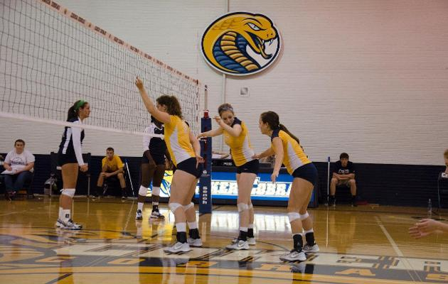 Coker Women's Volleyball Drops Three Set Match at Brevard