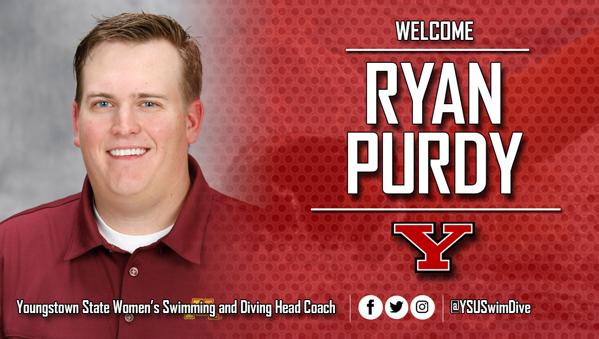Ryan Purdy has been named YSU Women's Swimming and Diving Coach.